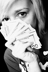 dziewczyna pieniadze Polisolokata oczami Kasi